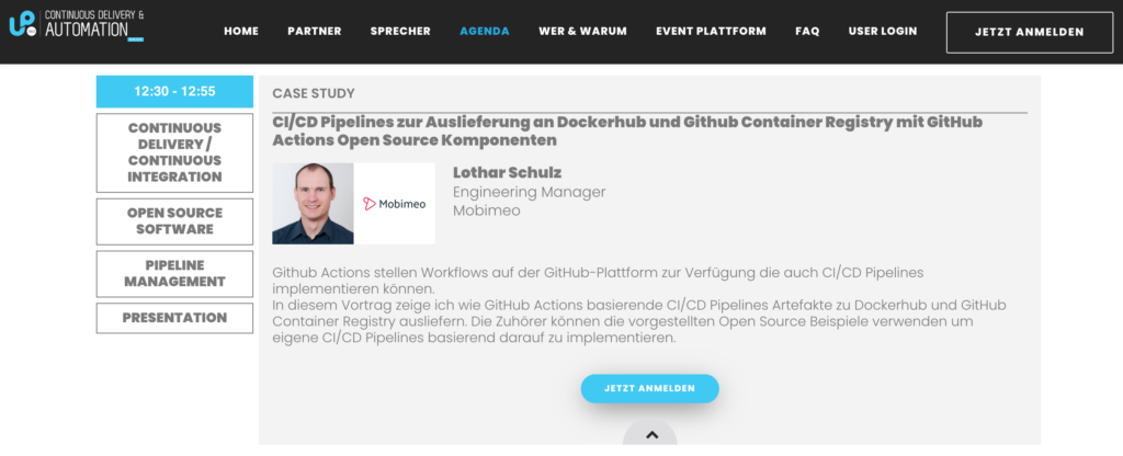 SCALEUP 360° CONTINUOUS DELIVERY & AUTOMATION DACH, Berlin Februar 2021