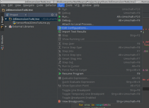 PyCharm Run Edit Configurations