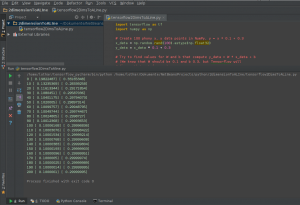 run script using PyCharm virtual env