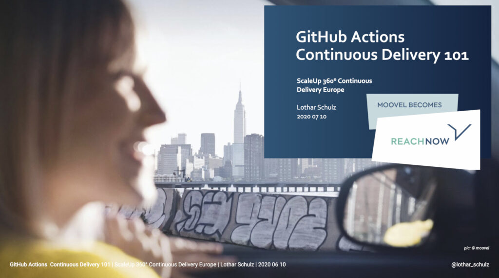 GitHub Actions Continuous Delivery 101