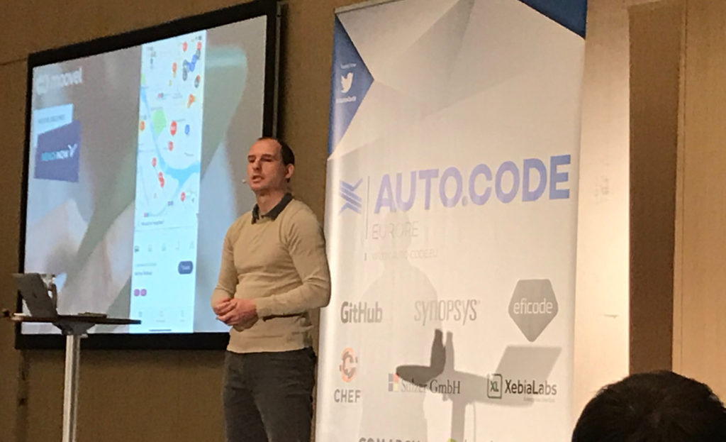 Auto Code EU, Berlin November 2019