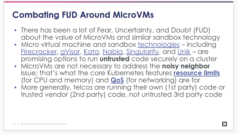 Fear, Uncertainty, Doubt Around MicroVMs