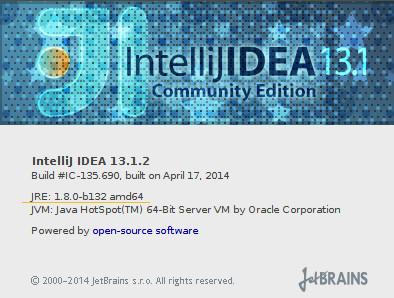 ideaOnJDK1.8.0