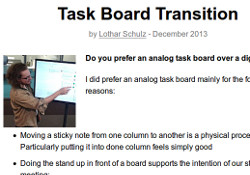 task board transition article